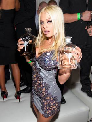 Jesse Jane hosts an AVN Awards after-party at Pure in Caesars Palace on Saturday, Jan. 21, 2012.