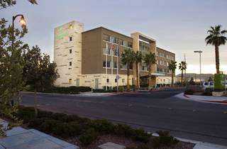 A view of Element, a LEED-certified hotel, in Summerlin Thursday, Jan. 26, 2012. President Obama stayed in the hotel during his recent overnight stay in Las Vegas.
