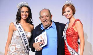 The 2012 Miss Nevada USA and Nevada Teen USA pageants at the Pearl in the Palms on Sunday, Jan. 29, 2012. Jade Kelsall was crowned Miss Nevada USA, and Katie Eklund was named Miss Nevada Teen USA. Kelsall, Robin Leach and 2011 Miss USA Alyssa Campanella are pictured here.