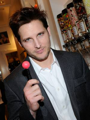 Peter Facinelli at Sugar Factory at the Paris on Saturday, Jan. 28, 2012.