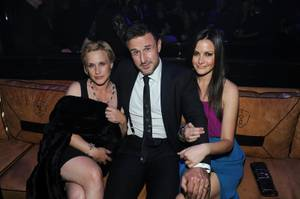 Patricia Arquette, David Arquette and Christina McLarty at 1 OAK in the Mirage on Friday, Jan. 27, 2012.