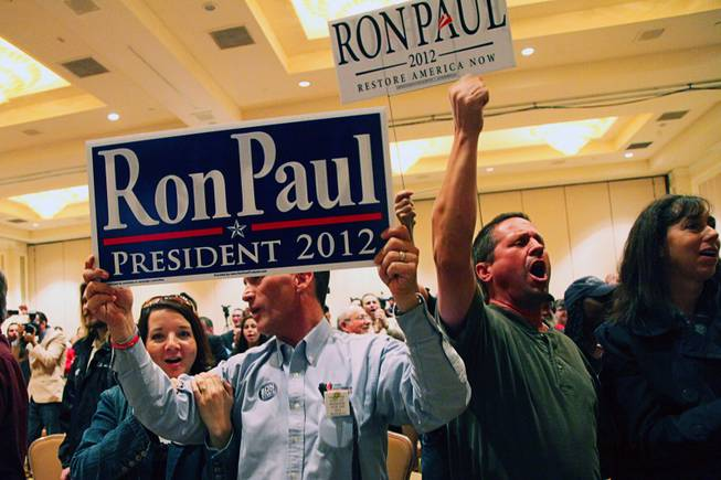 Ron Paul at the Four Seasons