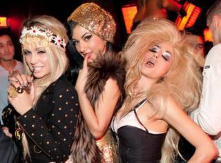Angel Porrino, Melody Sweets and Penny Pibbets celebrate