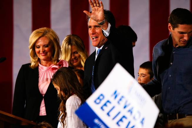 Romney Wins Nevada
