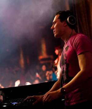 Tiesto at XS on Saturday, Feb. 4, 2012.