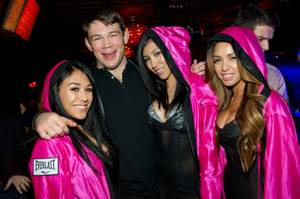 Forrest Griffin at Lavo; Gabriel and Dresden at Marquee