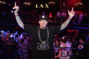 Vanilla Ice Performs at LAX