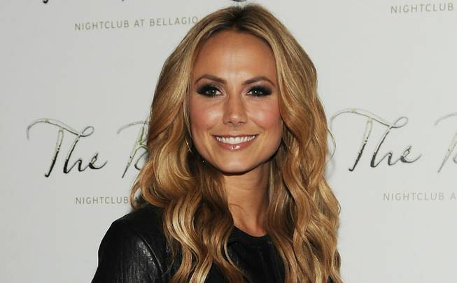 Stacy Keibler hosts at the Bank in the Bellagio on ...