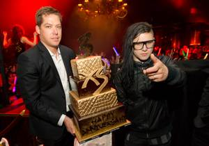 Third Anniversary of XS With DJ Skrillex