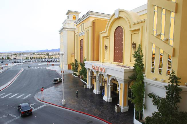 The South Point hotel and casino is seen Tuesday, Feb. 7, 2012.