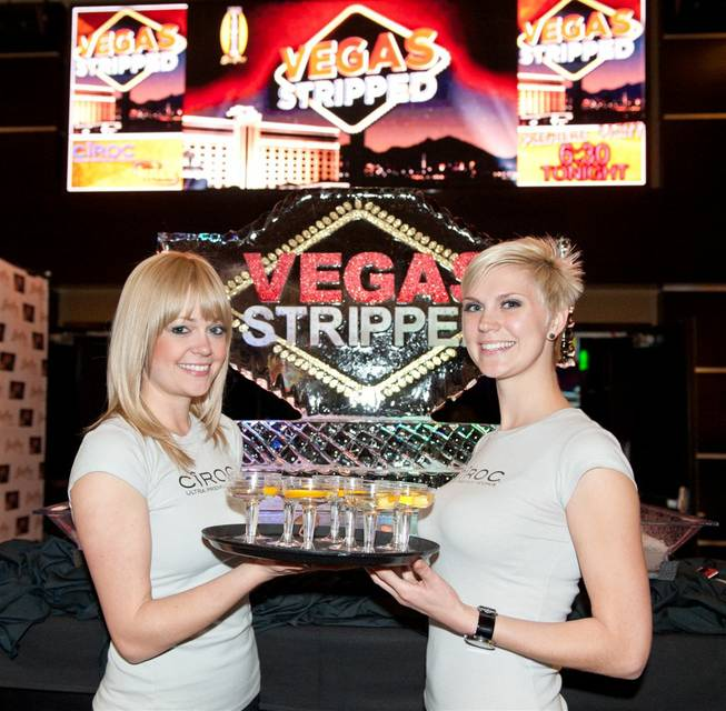 "The red carpet and premiere of Travel Channel's ""Vegas Stripped"" at South Point on Wednesday, Feb. 8, 2012."