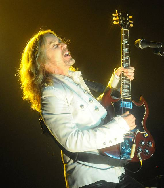 Styx performs at Green Valley Ranch on Friday, Feb. 10, ...