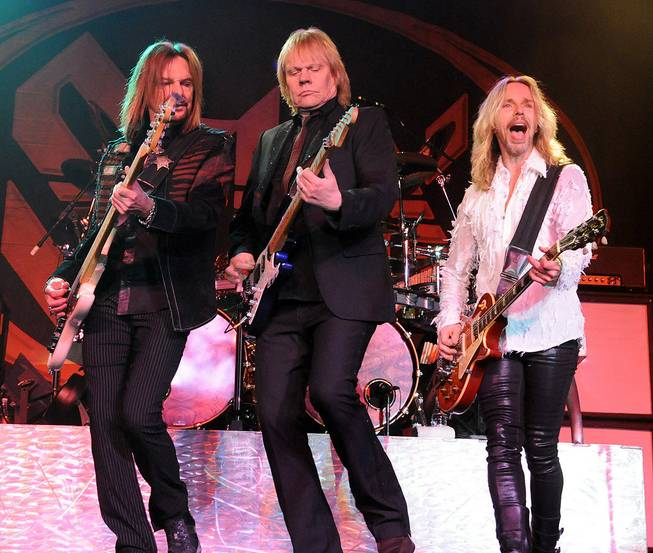 Styx performs at Green Valley Ranch on Friday, Feb. 10, 2012.