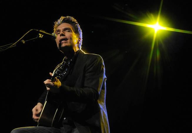 Richard Marx performs at Orleans Showroom on Saturday, Feb. 11, ...
