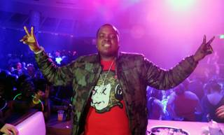 Sean Kingston celebrates his 22nd birthday at RPM Nightclub in Tropicana on Saturday, Feb. 11, 2012.