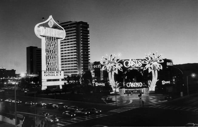 The Dunes casino on the Las Vegas Strip.