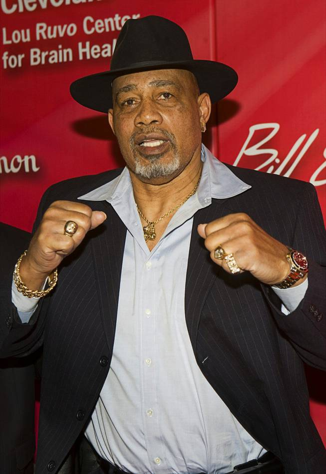 "Former heavyweight boxer Ken Norton arrives for the 16th annual Keep Memory Alive ""Power of Love Gala"" and 70th birthday celebration for Muhammad Ali at the MGM Grand Garden Arena Saturday, Feb.18, 2012. Norton fought Muhammad Ali three times including a win against Ali in 1973 where he became only the second man to defeat Ali as a professional."
