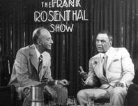 A photo from a display in a Stardust ballroom shows Frank Rosenthal with guest Frank Sinatra during the Frank Rosenthal Show in 1977. The weekly television show was filmed at the Stardust.
