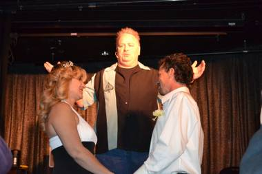 Kevin, who is an ordained minister, got the groom onstage during the interactive magic hypnosis portion of the comedy performance. Without ...
