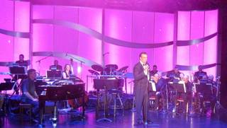 Robert Davi at the Venetian Showroom on Thursday, Feb. 23, 2012.