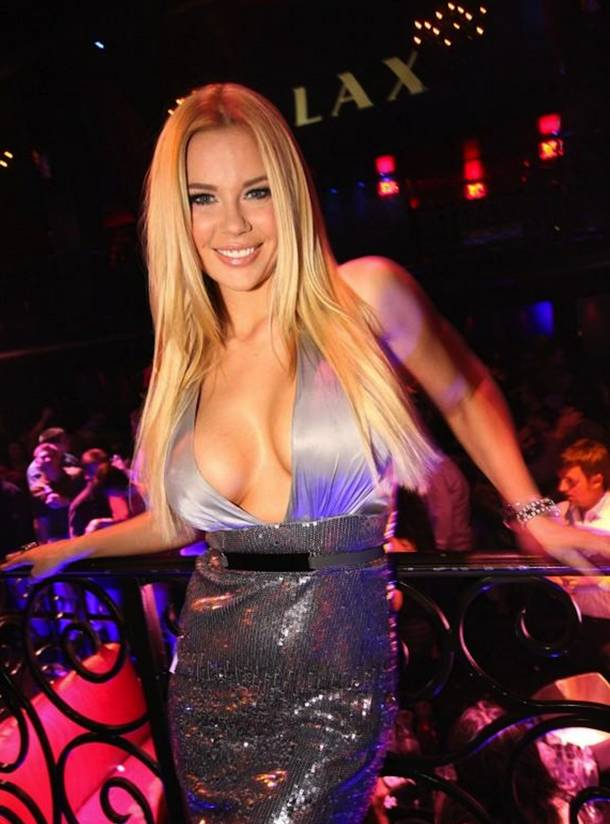 Jessa Hinton at LAX in the Luxor on Wednesday, Feb. 22, 2012.