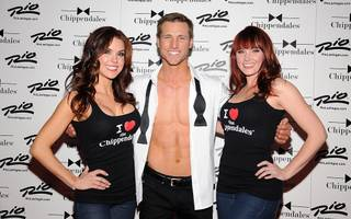 Chippendales' 10th anniversary with guest host Jake Pavelka at the Rio on Friday, Feb. 24, 2012.