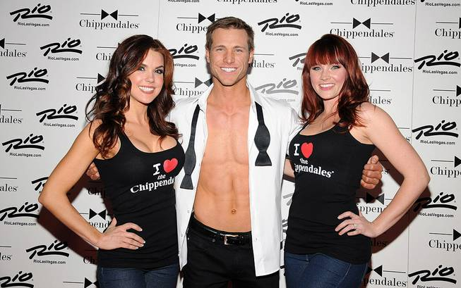 Chippendales' 10th anniversary with guest host Jake Pavelka at the ...