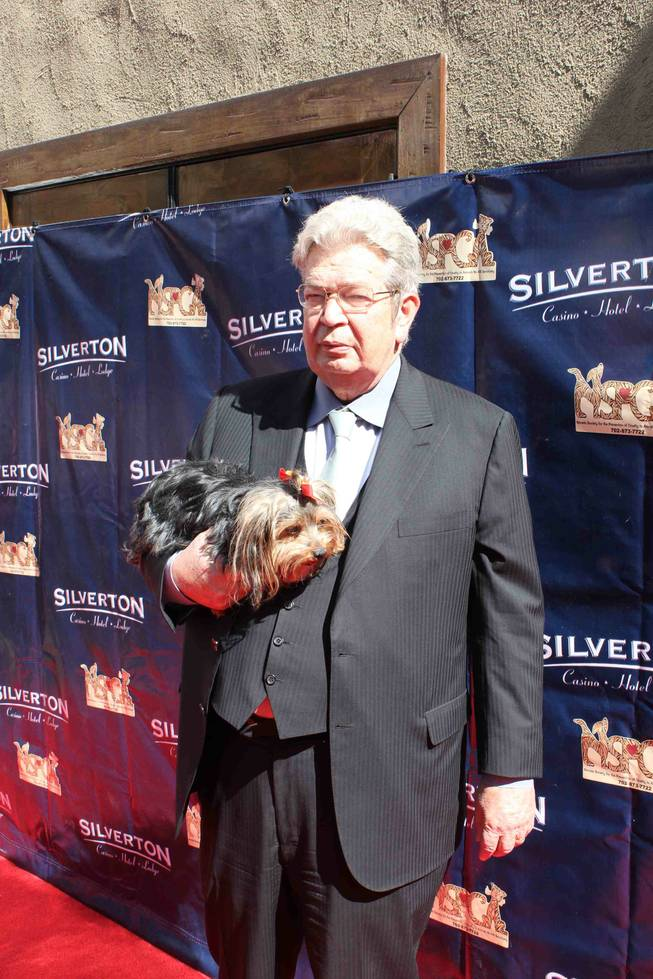 Richard Harrison at 2012 Celebrity Bingo Bow Wow at Silverton Casino Lodge on Saturday, Feb. 25, 2012.