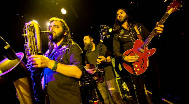 The Budos Band at Body English in the Hard Rock ...