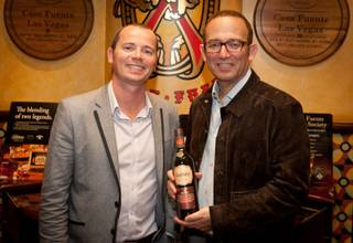 Casa Fuente hosts Glenfiddich's limited release of the Cask of Dreams on Wednesday, Feb. 29, 2012.