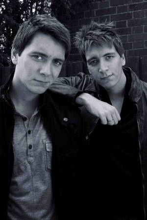James and Oliver Phelps -- or Oliver and James Phelps.