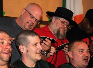 The St. Baldrick's Foundation head-shaving fundraiser with Rick Harrison, Austin