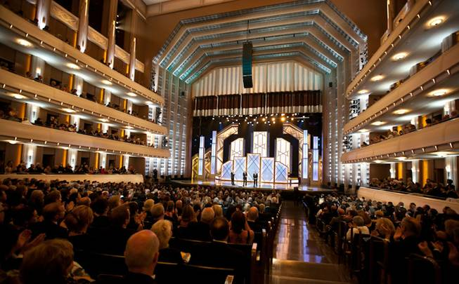 The Smith Center for the Performing Arts' all-star, opening-night show in Reynolds Hall on Saturday, March 10, 2012.