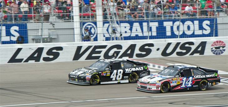 The 2012 Kobalt Tools 400 at Las Vegas Motor Speedway on Sunday, March 11, 2012.