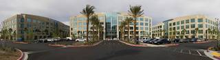 A panoramic view of the new Metro Police Department headquarters on Martin Luther King Jr. Boulevard during a tour of downtown buildings in Las Vegas Monday, March 12, 2012.