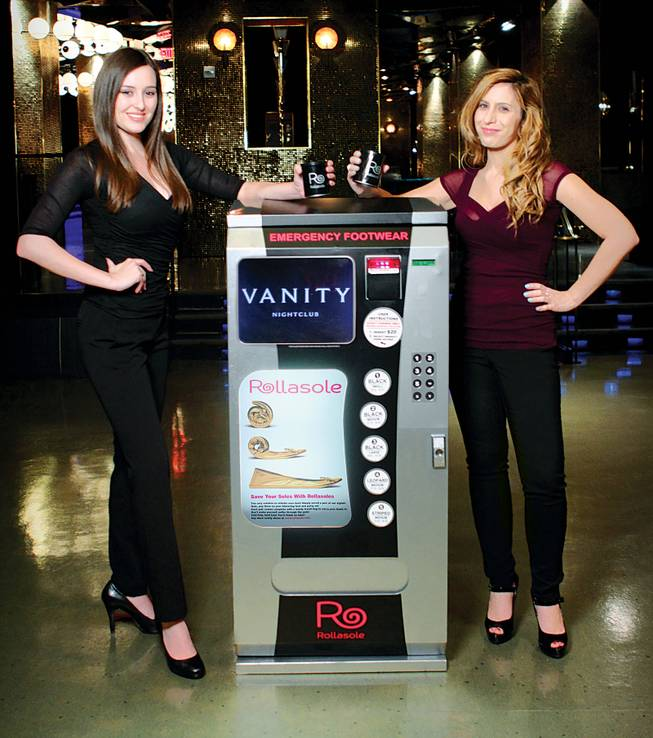 "The Las Vegas area is host to a variety of ""Crazy Vending Machines."""