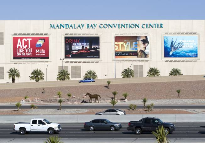 A view of the Mandalay Bay Convention Center Tuesday, March 13, 2012.