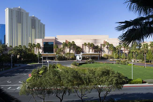 A view of the MGM Convention Center Tuesday, March 13, 2012.
