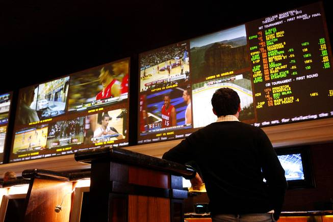 The Race & Sports Book at Green Valley Ranch in Henderson on Tuesday, March 13, 2012.