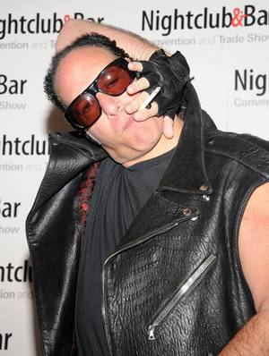 "Andrew ""Dice"" Clay at Day 1 of the 2012 Nightclub and Bar Convention on Tuesday, March 13, 2012."