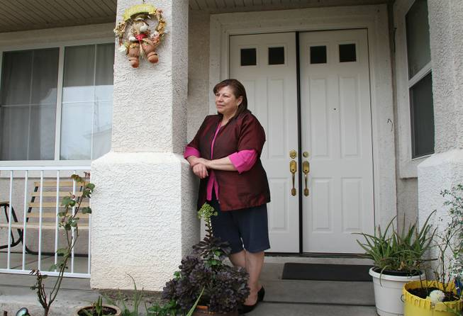 Maria Herrera says after paying Gustave Anaya's mortgage brokerage $2,980, they did nothing to help her modify the terms of her mortgage and failed to appear at a mediation hearing with the bank. She has.filed a complaint with the state and is named in a criminal suit brought by the Nevada Attorney General against Anaya.
