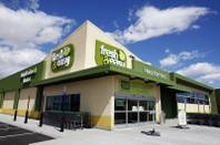 The new Fresh & Easy set to open Wednesday, March 21, 2012, near South Decatur Boulevard and West Cactus Avenue in Las Vegas on March 19.