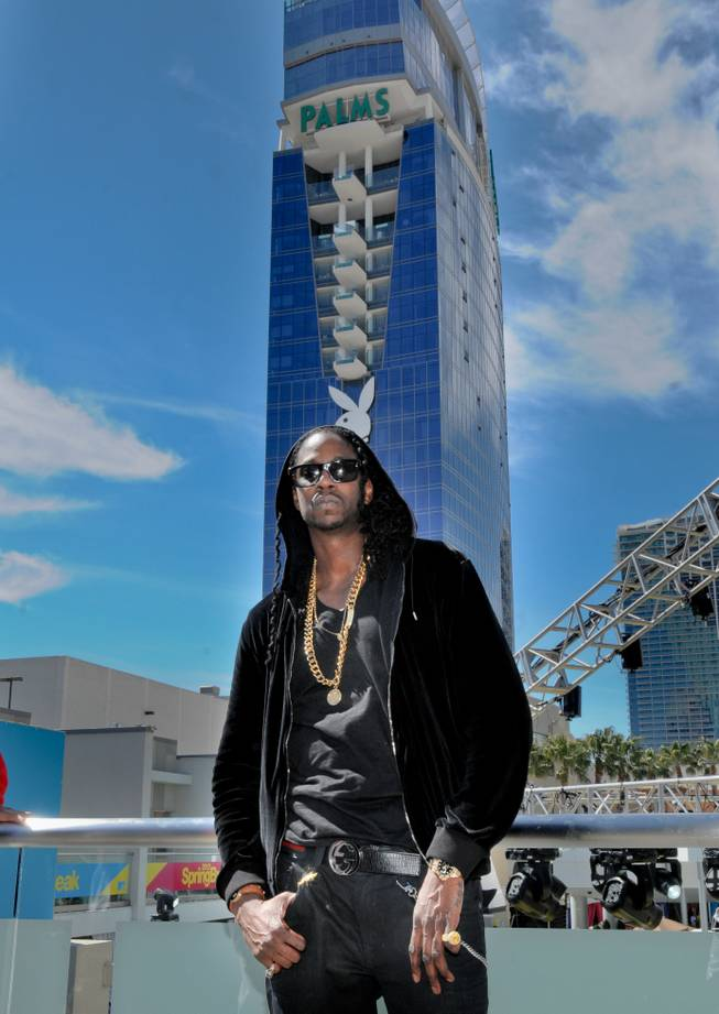 "Atlanta rapper 2 Chainz was among those performing March 20, 2012, during MTV's ""Spring Break"" at the Palms."