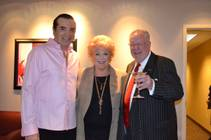 Chazz Palminteri, Mayor Carolyn Goodman and former Mayor Oscar Goodman at the Mirage on Monday, March 19, 2012.