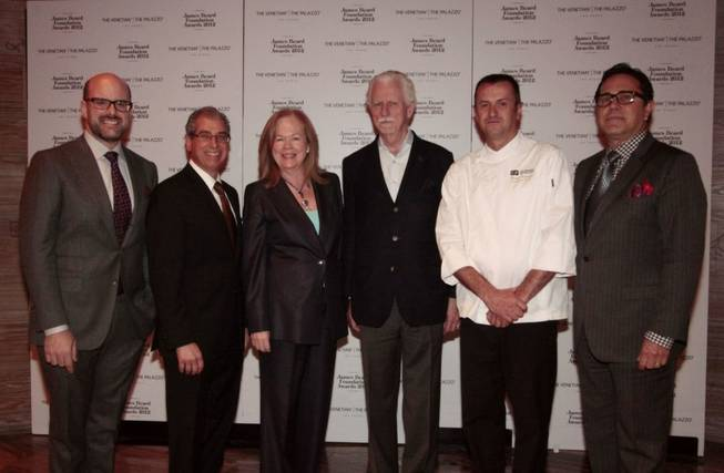 The 2012 James Beard Awards announcement luncheon at the Palazzo ...