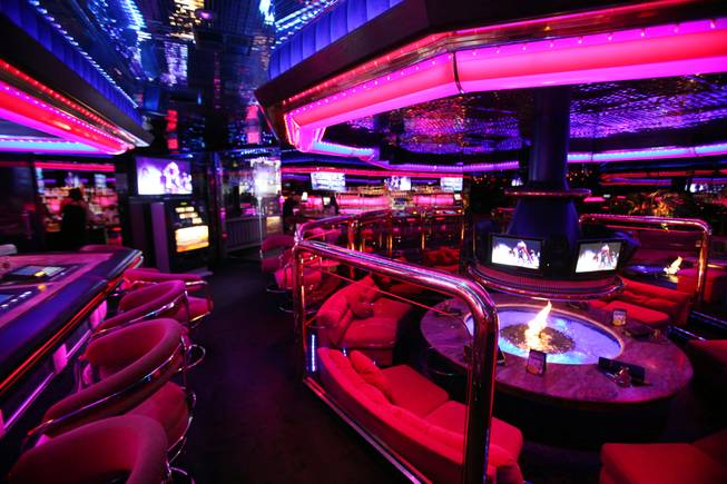 The Fireside Lounge inside the Peppermill in Las Vegas on Friday, March 23, 2012.