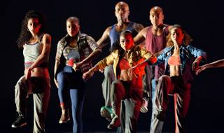 The Alvin Ailey American Dance Theater at Reynolds Hall in the Smith Center for the Performing Arts on Tuesday, March 20, 2012.