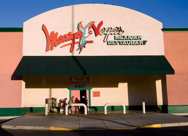 "Macayo's will be closing both of its Las Vegas locations after nearly 60 years of operation in Las Vegas. The Sahara Avenue location, pictured here, will close March 10. Until then officials ask to ""come in and join us in a celebration of our long history serving the Las Vegas Valley."""