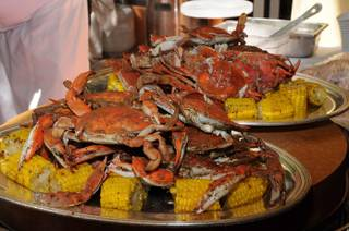 Executive chef David Walzog's Crab Bash at Lakeside in Wynn Las Vegas on Saturday, March 24, 2012.