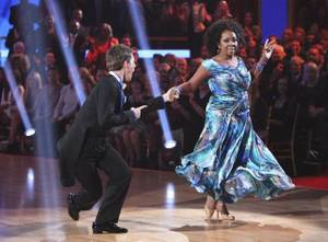 Tristan MacManus and Gladys Knight on ABC